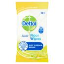 Dettol Citrus Floor Extra Large Wipes