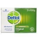 Dettol Anti-Bacterial Original Bar Soap Twin Pack