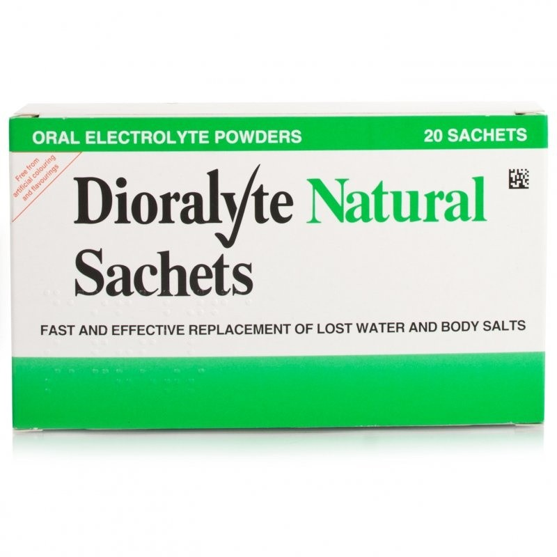 Dioralyte Sachets Natural