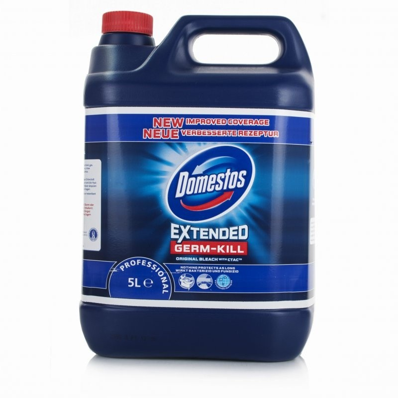 Bleach Bathroom Cleaner: Domestos Bleach Blue Toilet Cleaner