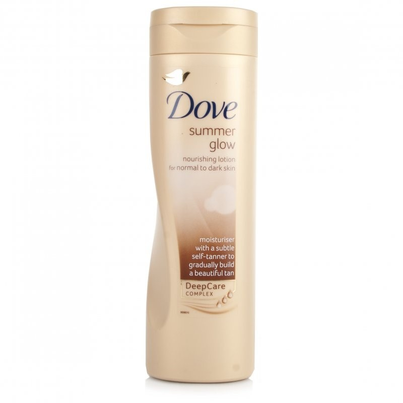 Dove Summer Glow Body Normal To Dark Skin Lotion