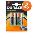 Duracell Rechargeable C2 4 Pack
