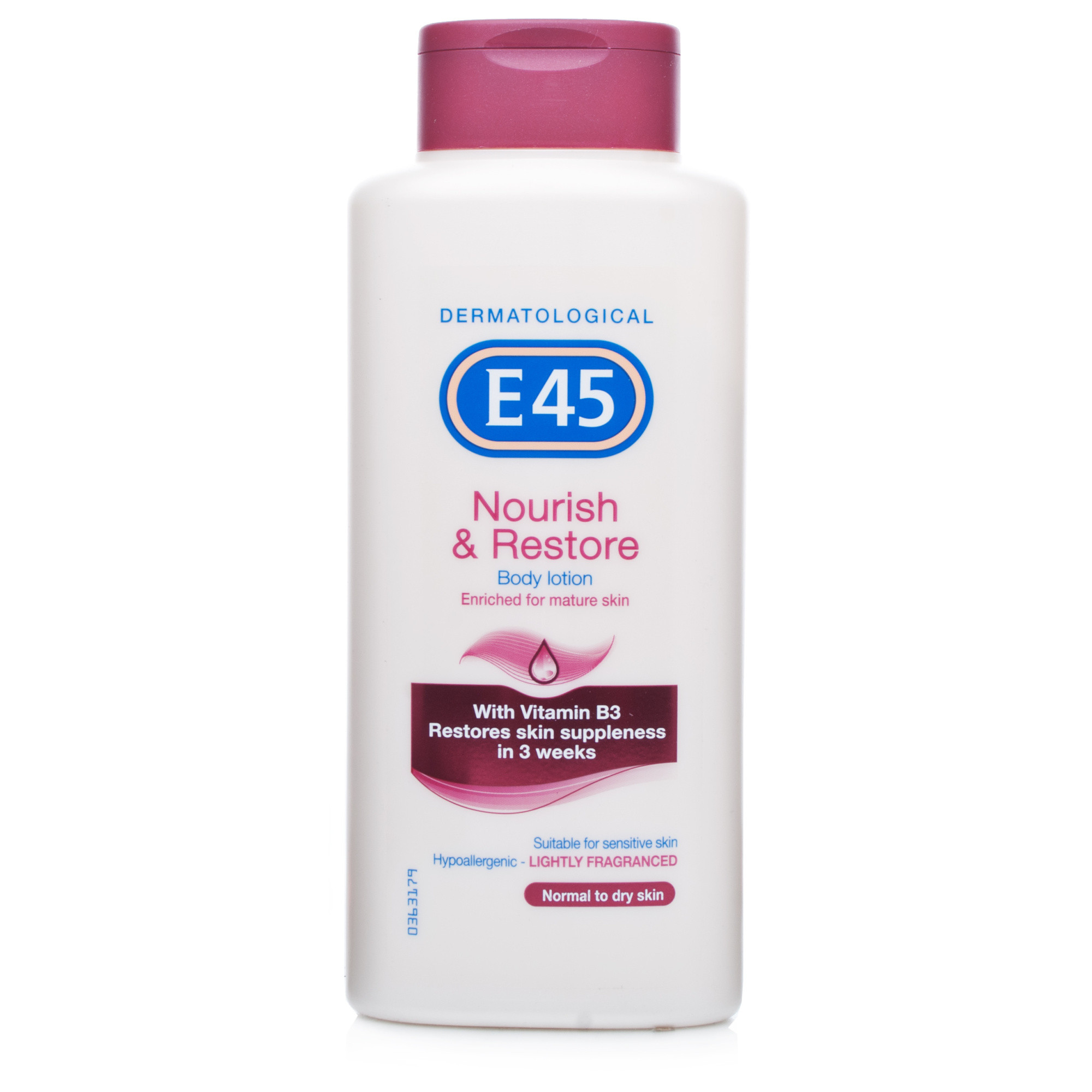 E45 Nourish & Restore Lightly Fragranced Body Lotion