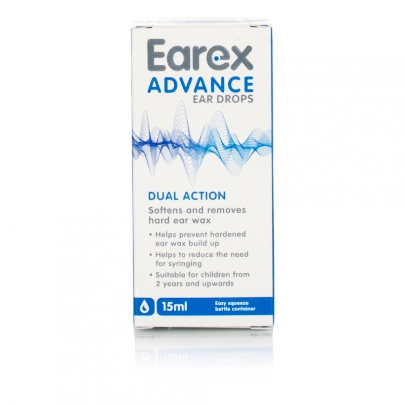 Earex Advance Ear Drops Dual Action