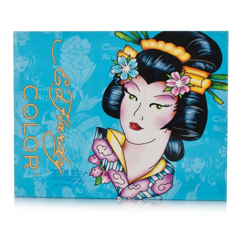 Ed Hardy Color Make Up Set Geisha Blue