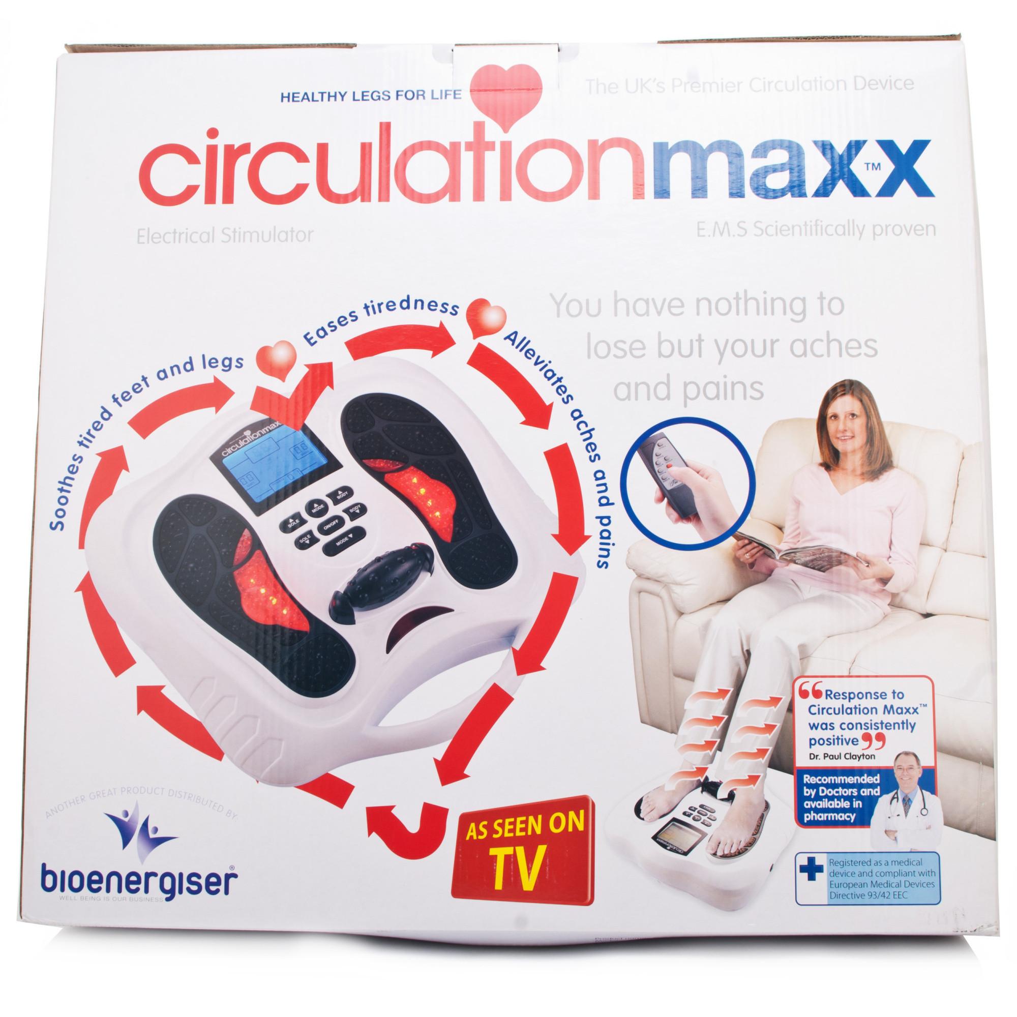 electro flex circulation massager instructions