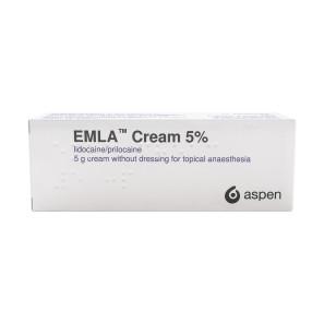 Emla Numbing Cream 5% 5g Tube (No Dressings)