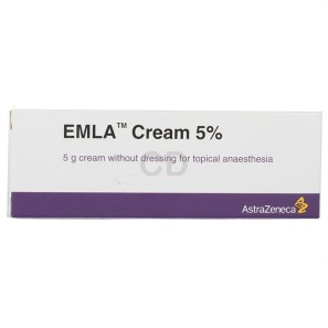 how to use emla cream for waxing
