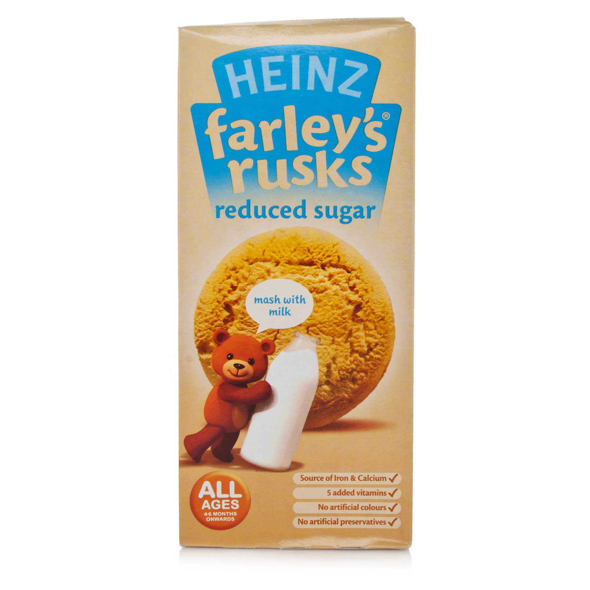 Farley's Rusks Reduced Sugar Original 9 Pack