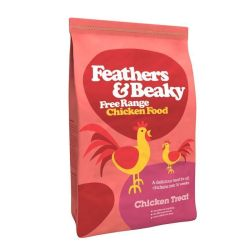 Feathers & Beaky Free Range Chicken Treat