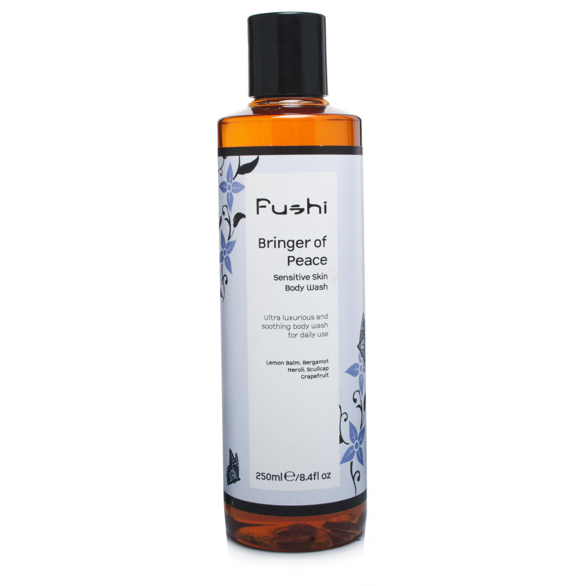 Fushi Bringer of Peace Herbal Body Wash for Sensitive Skin