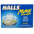 Halls Maximum Strength Original