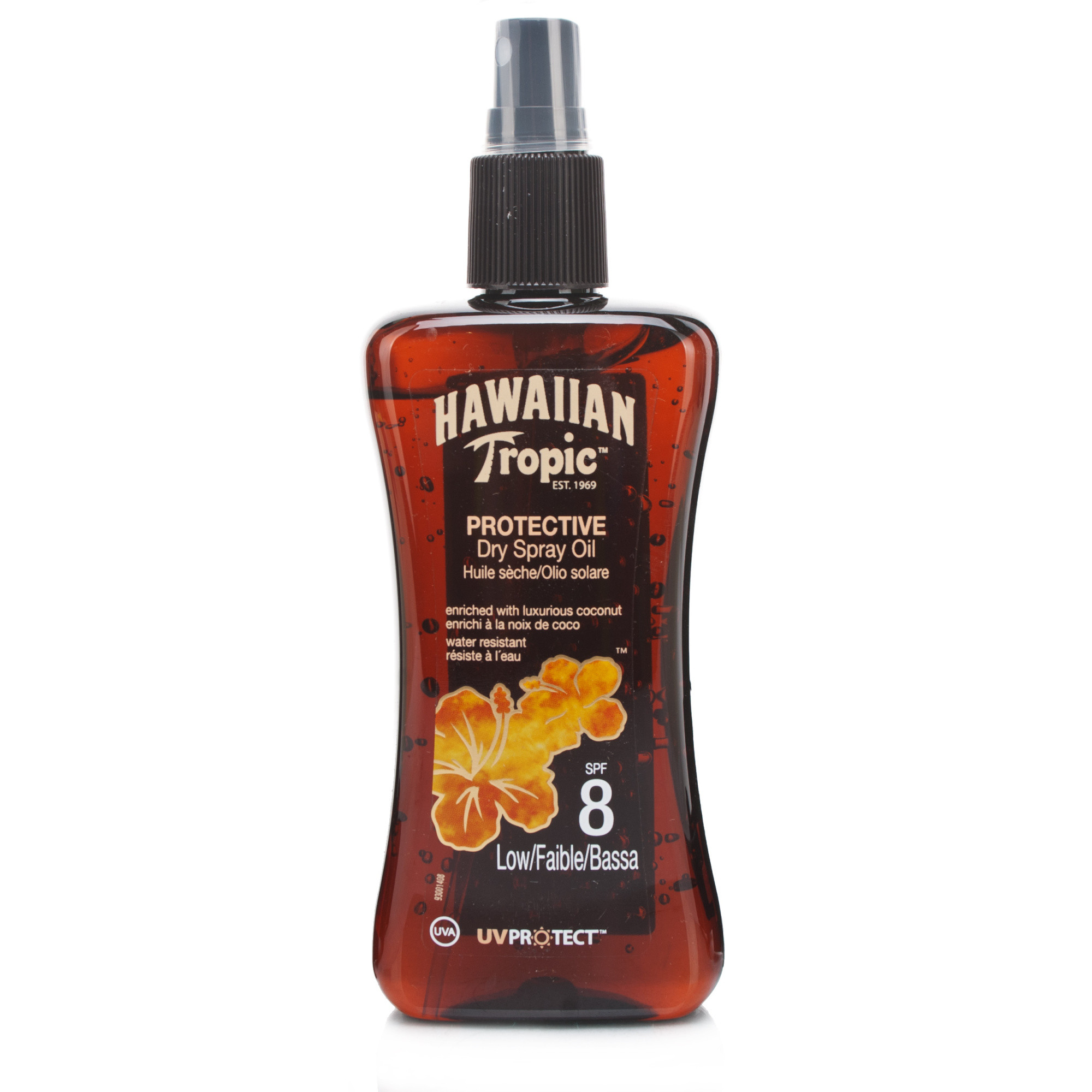 Hawaiian Tropic Protective Dry Oil SPF8