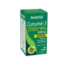 HealthAid Curcumin 3 600mg Tablets