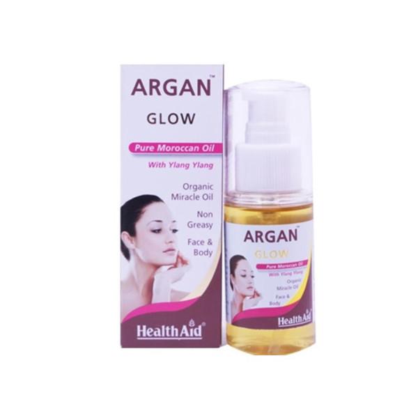 Healthaid Argan Glow Natural Moroccan Oil