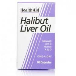 Healthaid Halibut Liver Oil Capsules