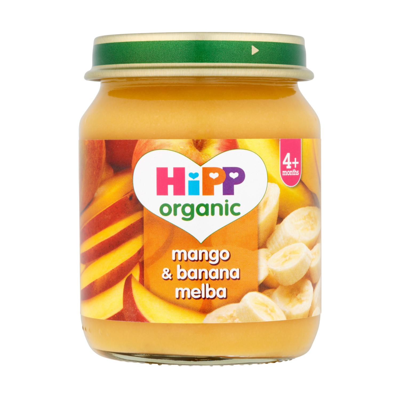 Hipp Organic 4months Mango & Banana Melba