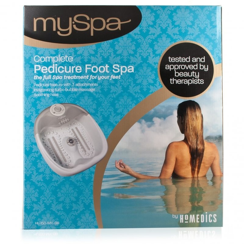 HoMedics MySpa Pedicure Foot Spa