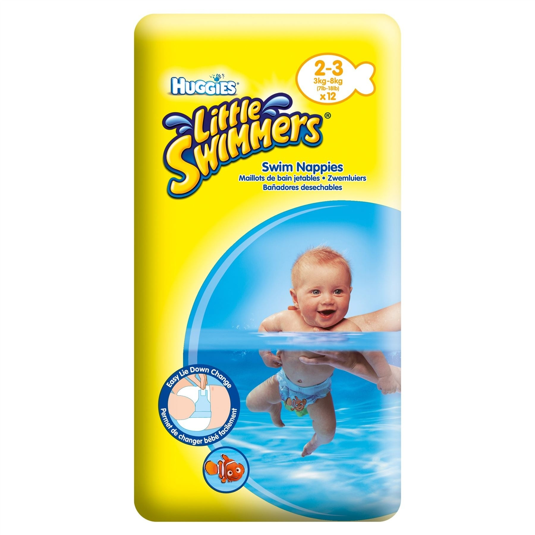 Huggies Little Swimmers Nappies Size 23