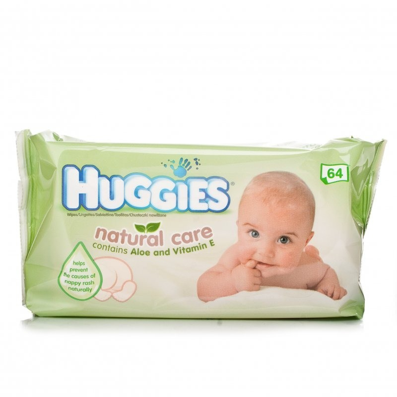 Huggies Natural Care Aloe Enriched Baby Wipes