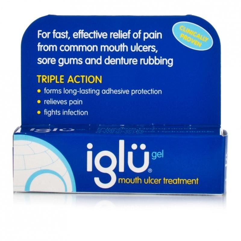 Iglu Mouth Ulcer Treatment Gel