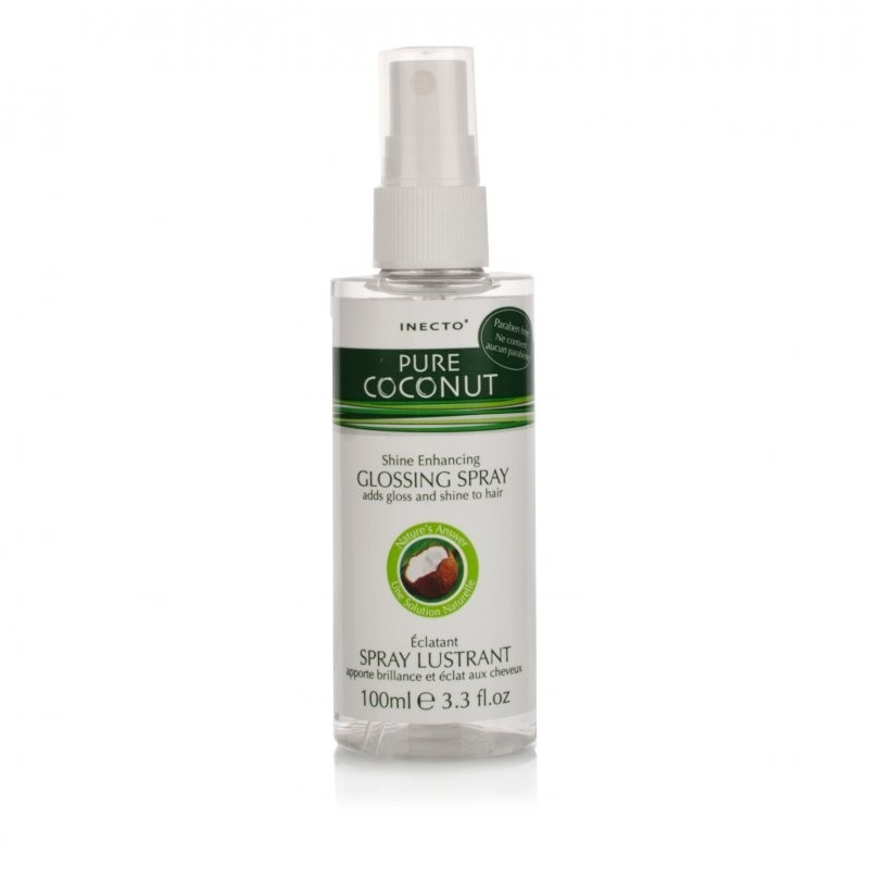 Inecto Pure Coconut Oil Glossing Spray