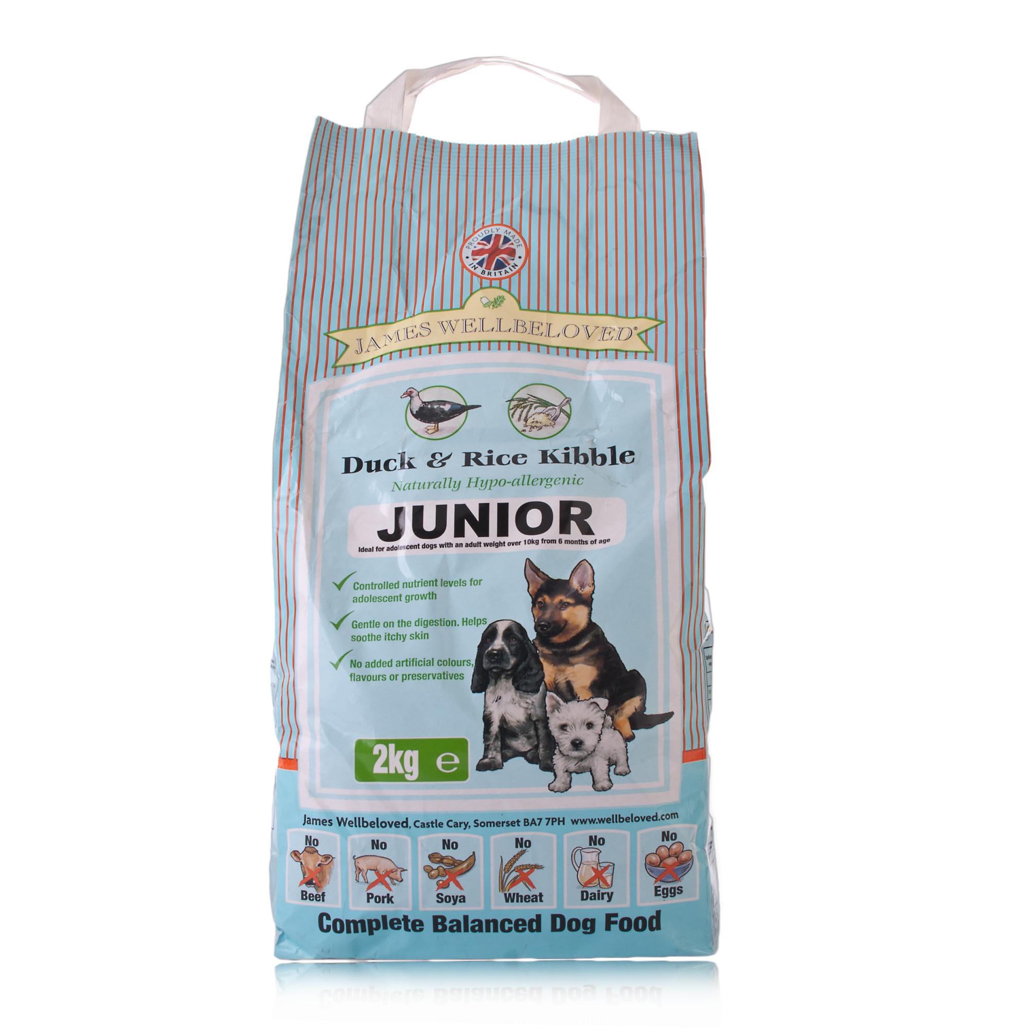 JW junior - Duck & Rice