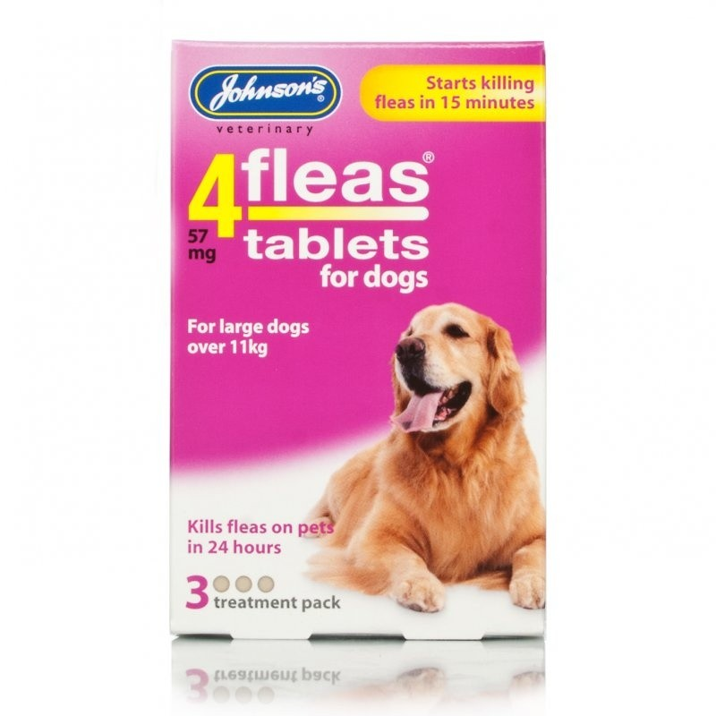 Click to view product details and reviews for Johnsons 4fleas Dog Tablets.
