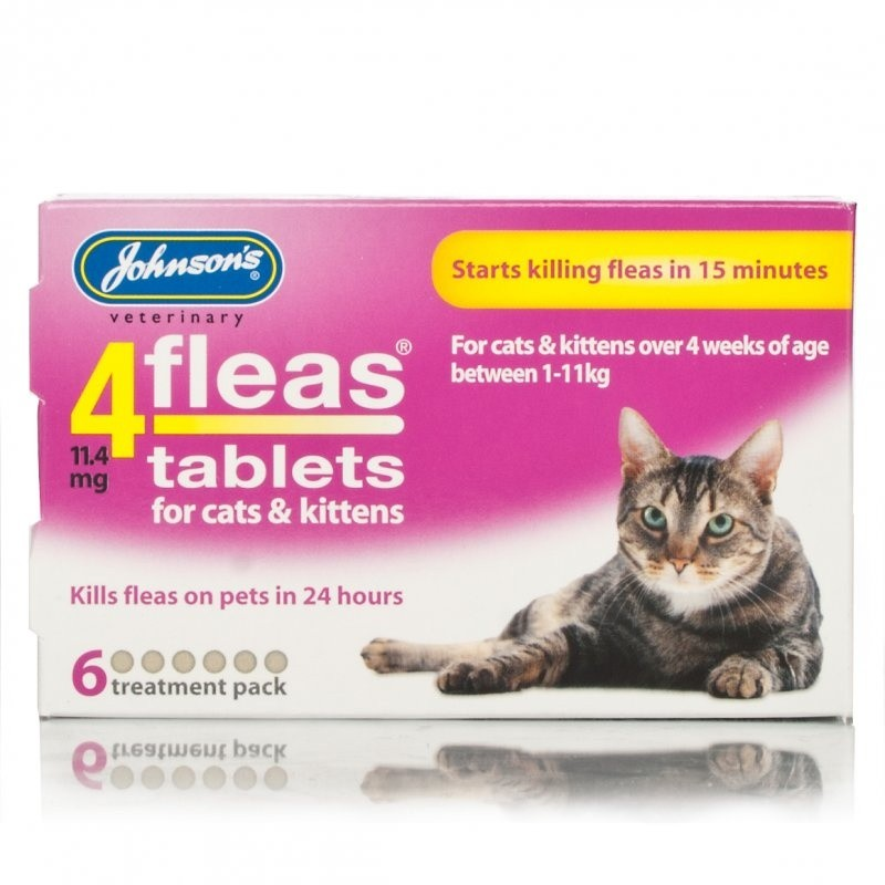 Click to view product details and reviews for Johnsons 4fleas Tablets For Cats Kittens.