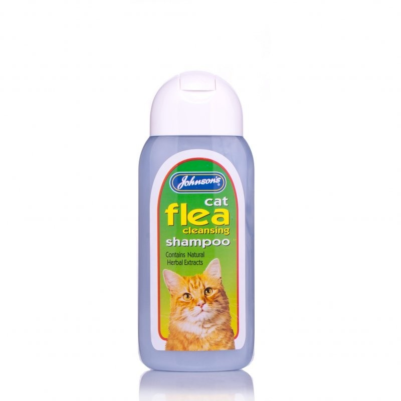 Johnsons Cat Flea Cleanser Shampoo