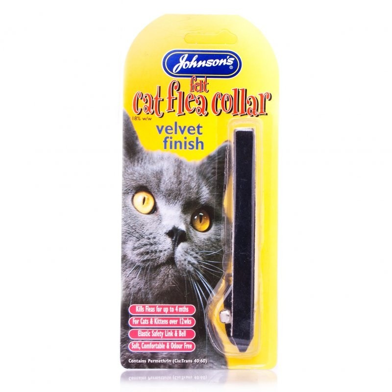 Click to view product details and reviews for Johnsons Cat Flea Collar Velvet.