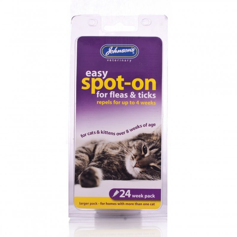 Click to view product details and reviews for Johnsons Flea Tick Drops 24 Weeks For Cats Kitten.