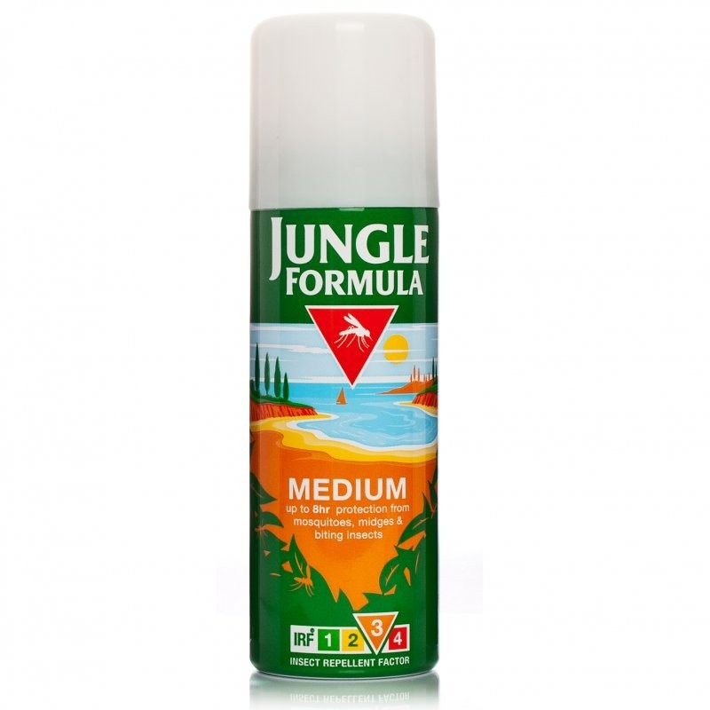 Jungle Formula Medium Insect Repellent IRF3 Body Spray