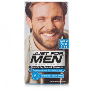 Just For Men Moustache & Beard Brush-In Colour - Light-Medium ...