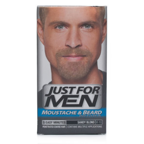 Buy Just For Men Moustache & Beard Brush - In Colour - Sandy Blond