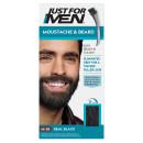 Just For Men Moustache & Beard Brush - In Colour - Real Black