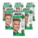 Just For Men Shampoo-In Light Brown - 6 Pack