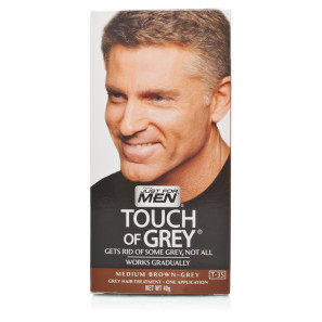 Just For Men Touch Of Grey Medium Brown-Grey Hair Colourant ...