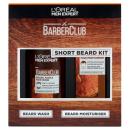 LOreal Paris Men Expert BarberClub Short Beard 2 Piece Kit