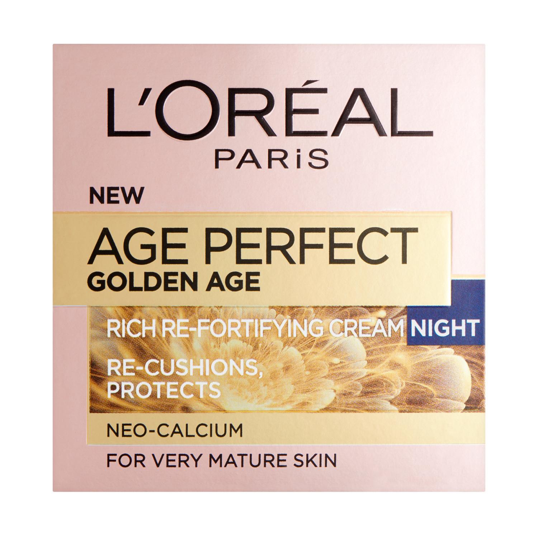 L'Oreal Paris Age Perfect Golden Age Night Cream | eBay