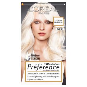 L Oreal Preference Les Blodissimes Extreme Platinum Hair