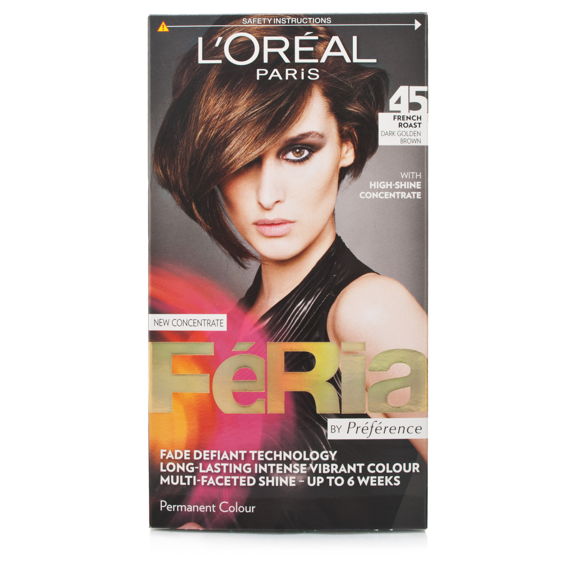 L'Oreal Preference Feria French Roast - Dark Golden Brown Permenant Colour