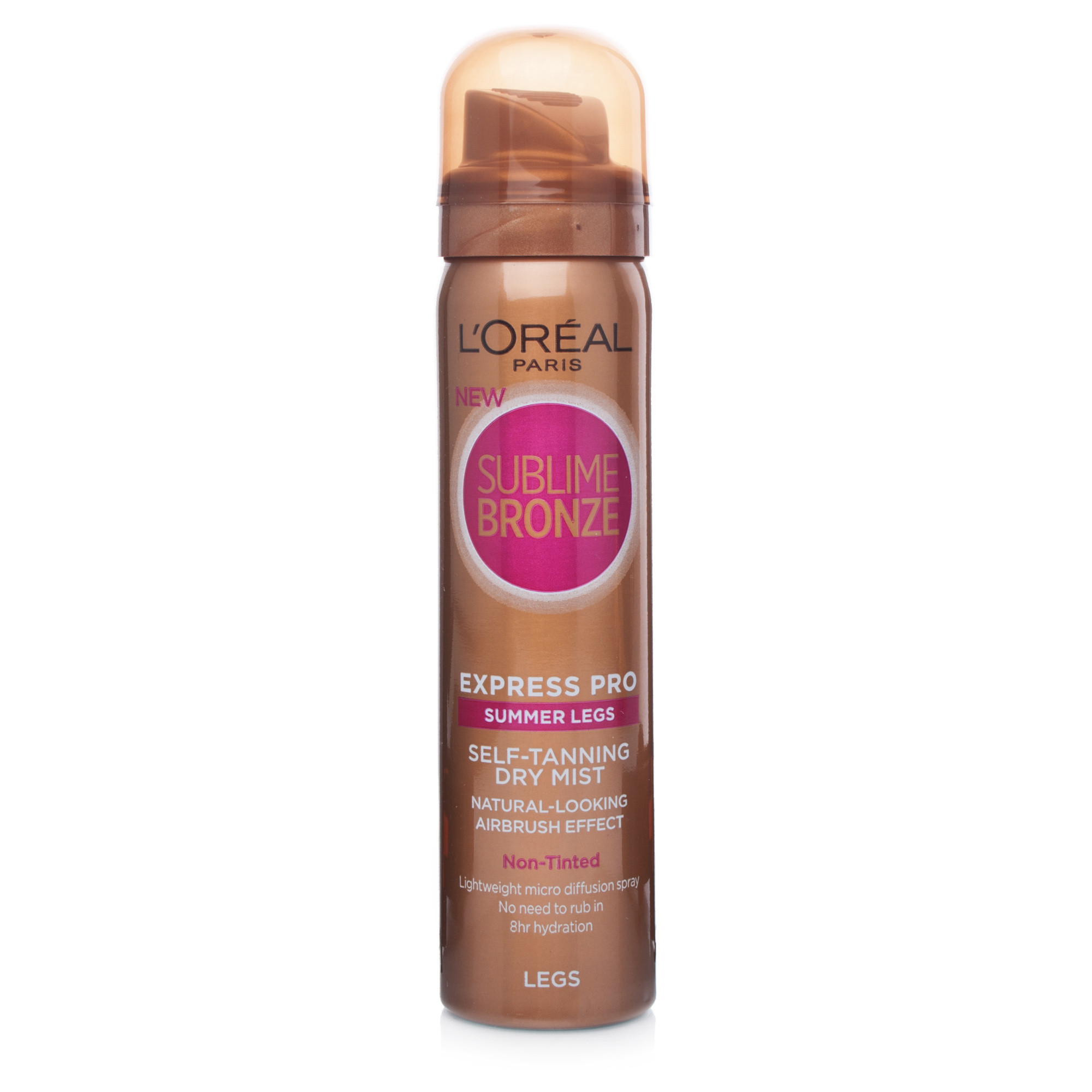 L'Oreal Sublime Bronze Express Pro Summer Legs Self-Tanning Dry Mist 75ml