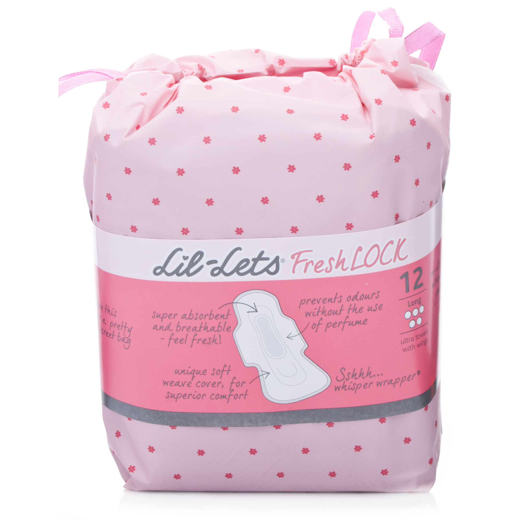 Lil-Lets Fresh Lock Ultra Towels - Long