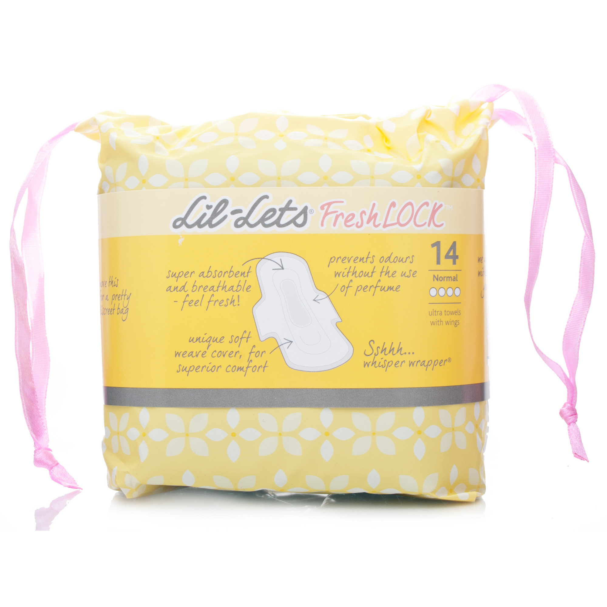 Lil-Lets Fresh Lock Ultra Towels - Normal