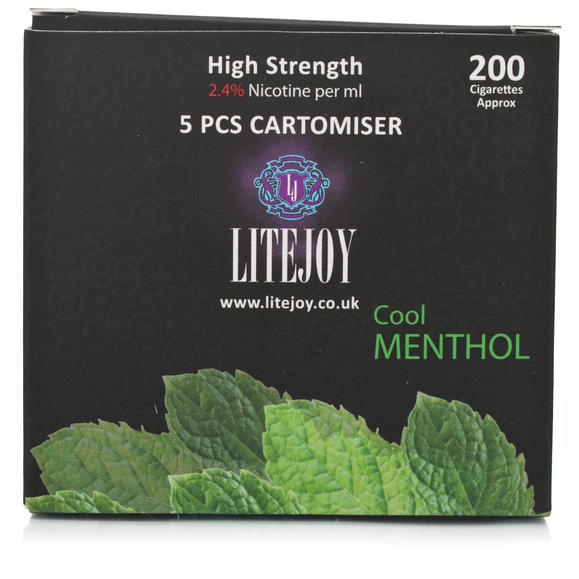 Litejoy Cartomiser Cool Menthol High Nicotine Strength