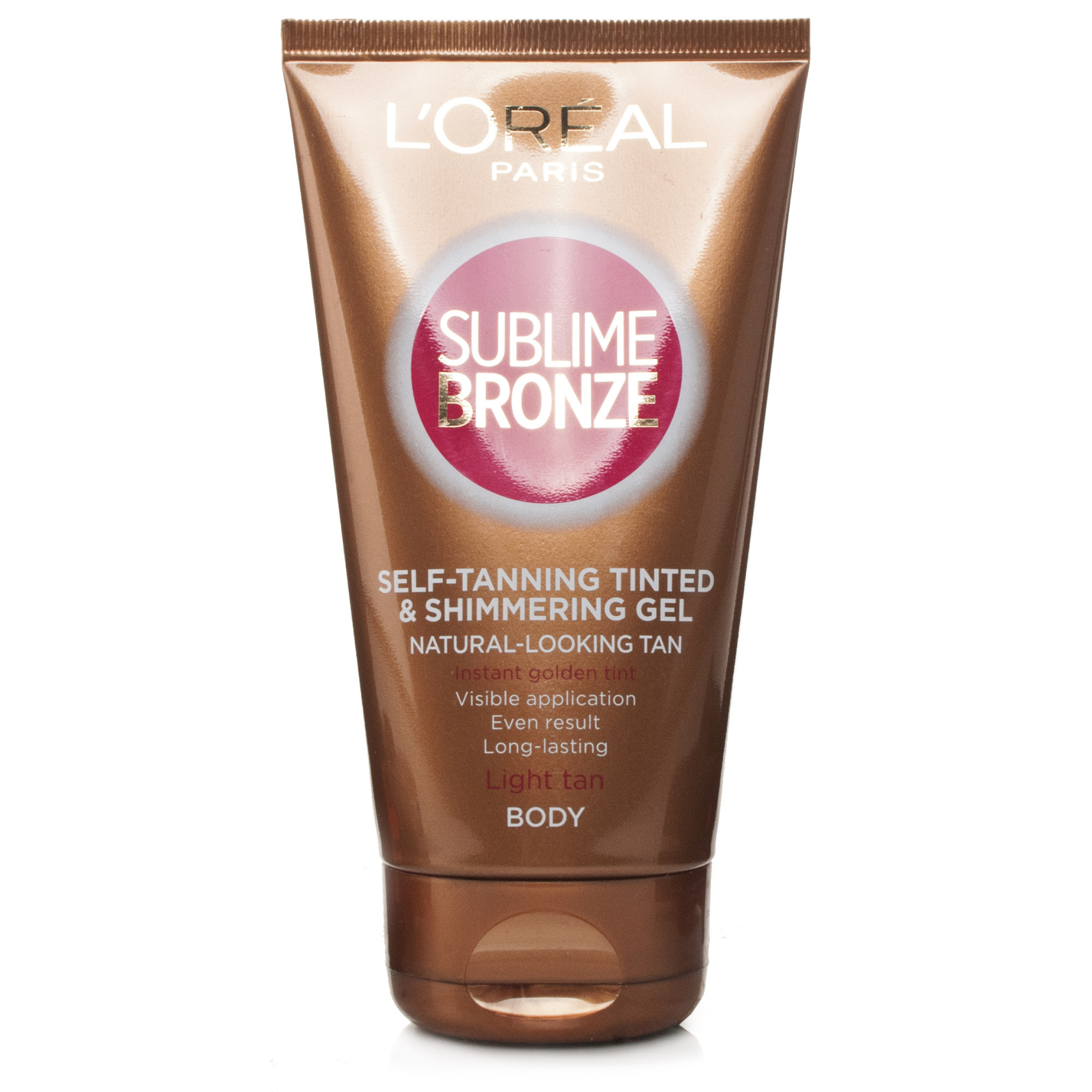 L'oreal Sublime Bronze Self-Tanning Gel Tinted & Shimmering Fair Skin
