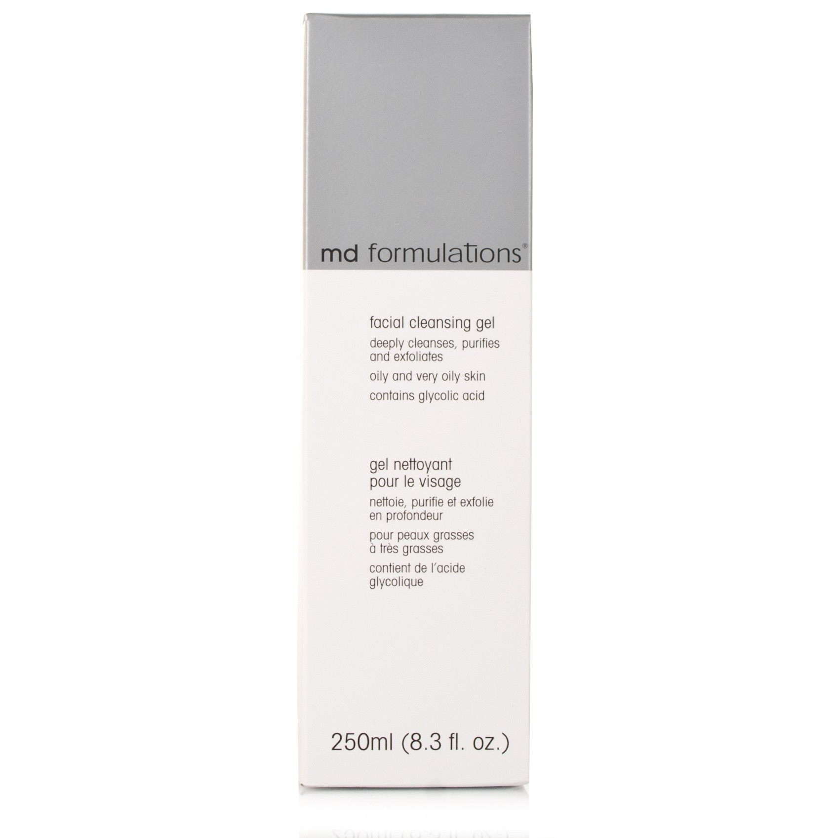 MD Formulations Facial Cleanser Gel Oily and Very Oily Skin