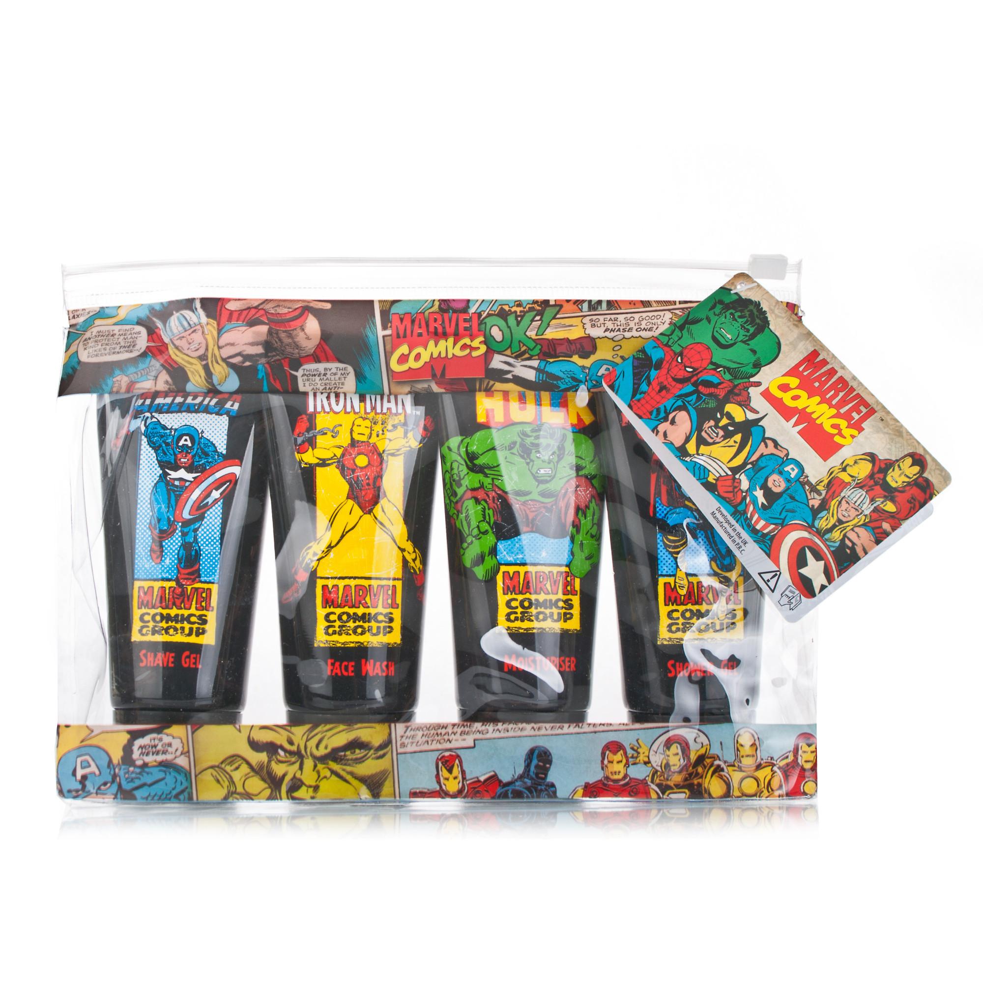 Marvel Baby Gifts Uk : Marvel comic group travel bag gift set chemist direct