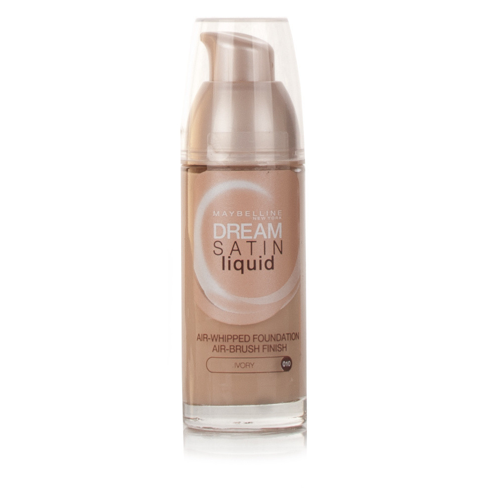 Maybelline Dream Satin Liquid Foundation Ivory 010